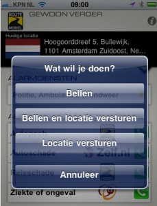 app route mobiel