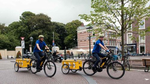 Wegenwacht op de fiets