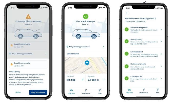ANWB Smart Driver app screenshots